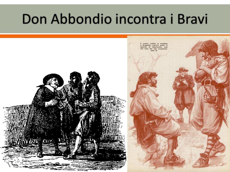 Don Abbondio incontra i Bravi