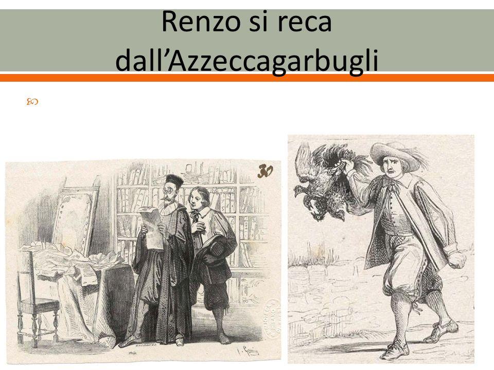 Renzo si reca dall'Azzeccagarbugli