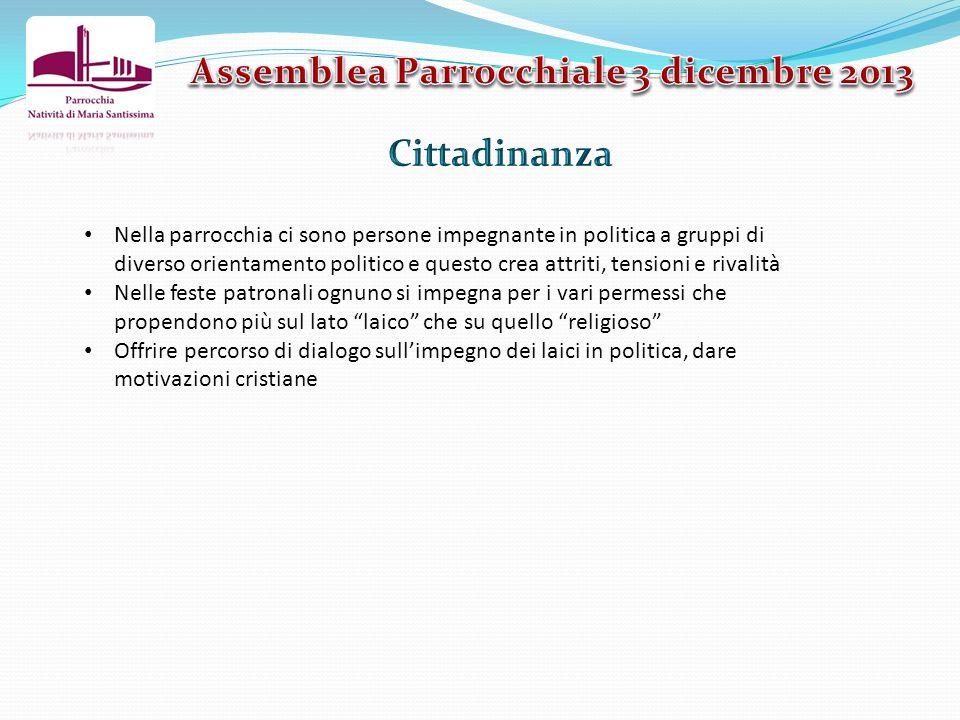 Assemblea Parrocchiale 3 dicembre 2013