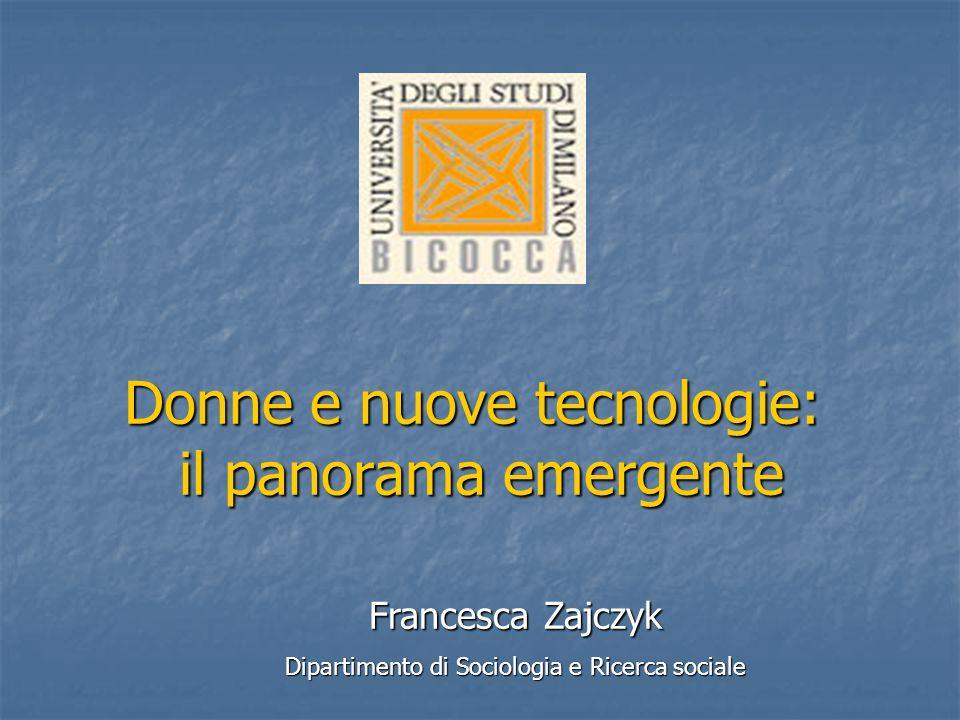 Donne e nuove tecnologie: il panorama emergente