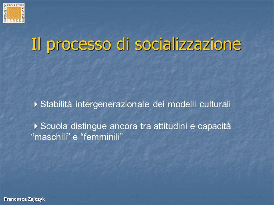 Il processo di socializzazione