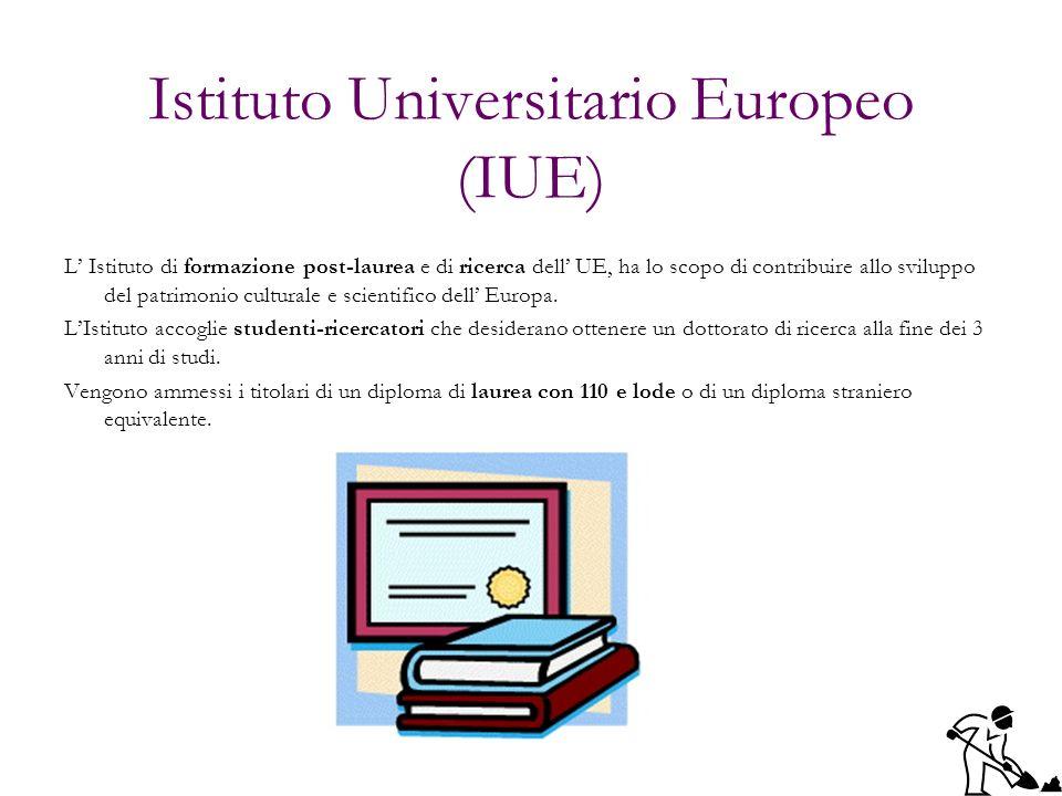 Istituto Universitario Europeo (IUE)