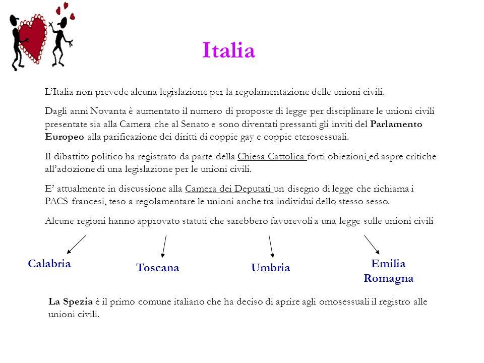 Italia Calabria Emilia Romagna Toscana Umbria