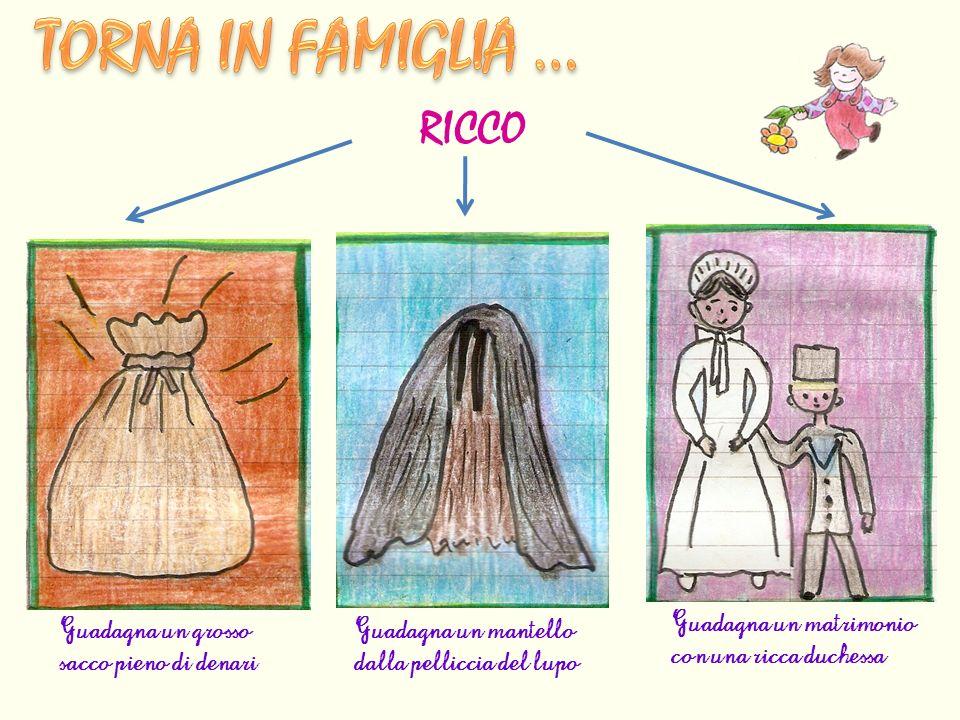 TORNA IN FAMIGLIA … RICCO