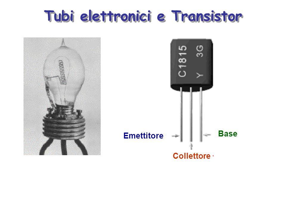 Tubi elettronici e Transistor