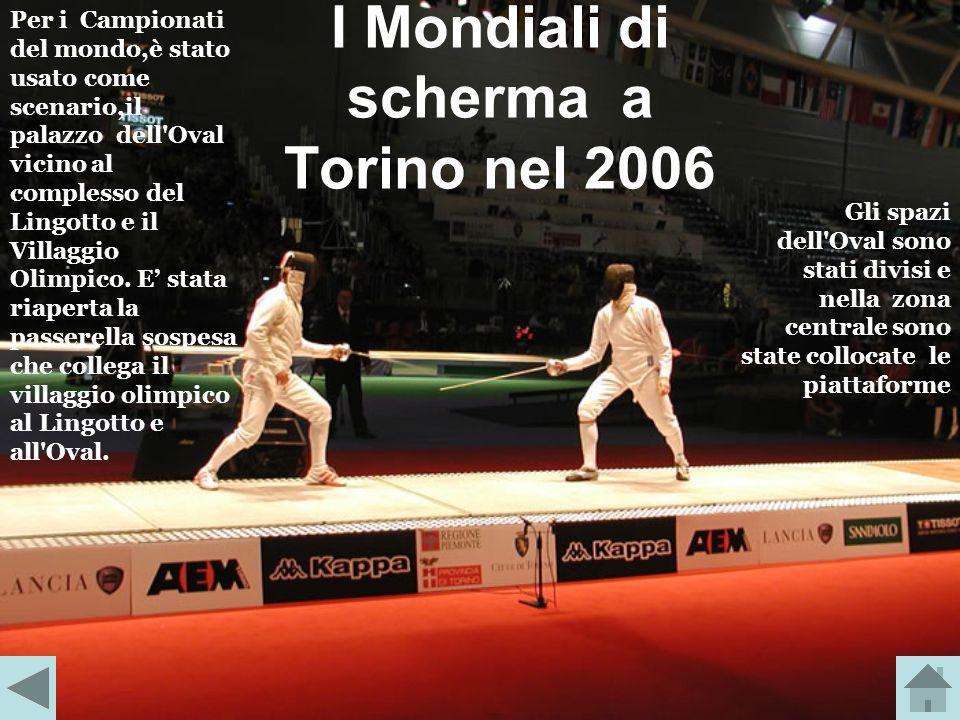 I Mondiali di scherma a Torino nel 2006