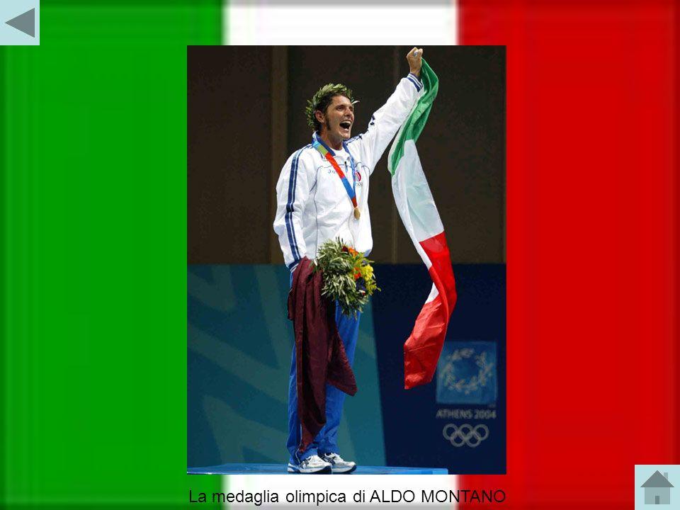 La medaglia olimpica di ALDO MONTANO