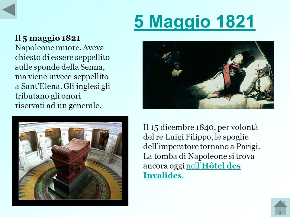 5 Maggio 1821