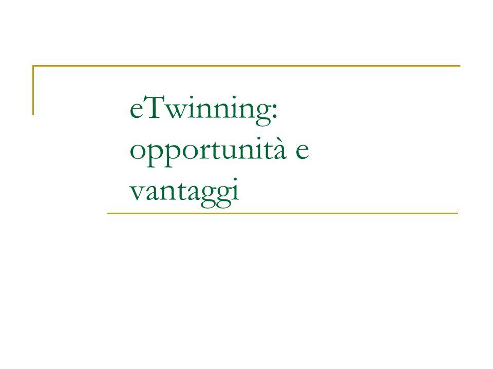 eTwinning: opportunità e vantaggi