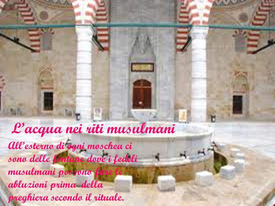 L'acqua nei riti musulmani