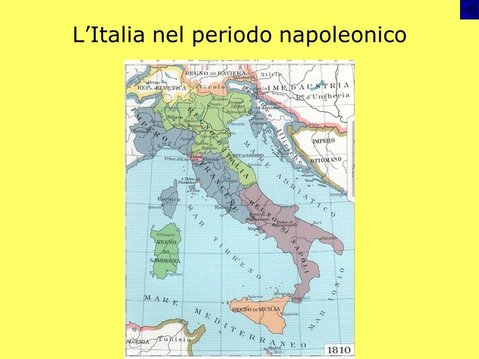 L'Italia nel periodo napoleonico