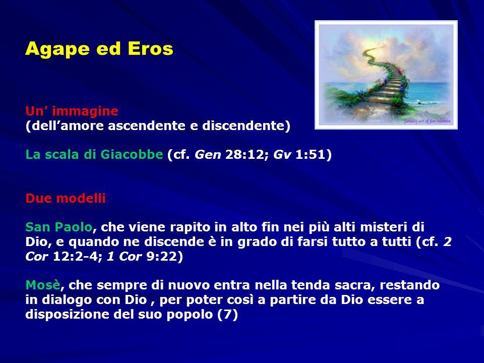 Agape ed Eros Un' immagine (dell'amore ascendente e discendente)