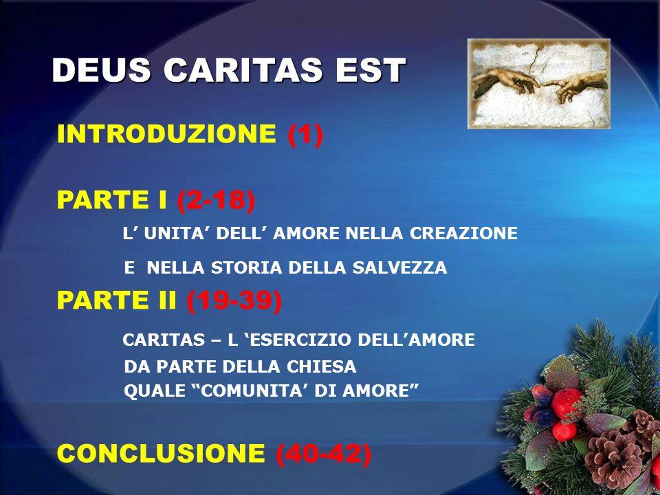 DEUS CARITAS EST INTRODUZIONE (1)