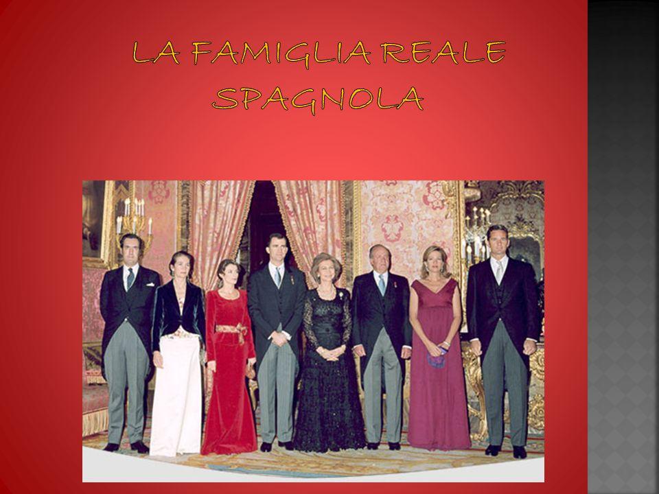 La famiglia reale spagnola