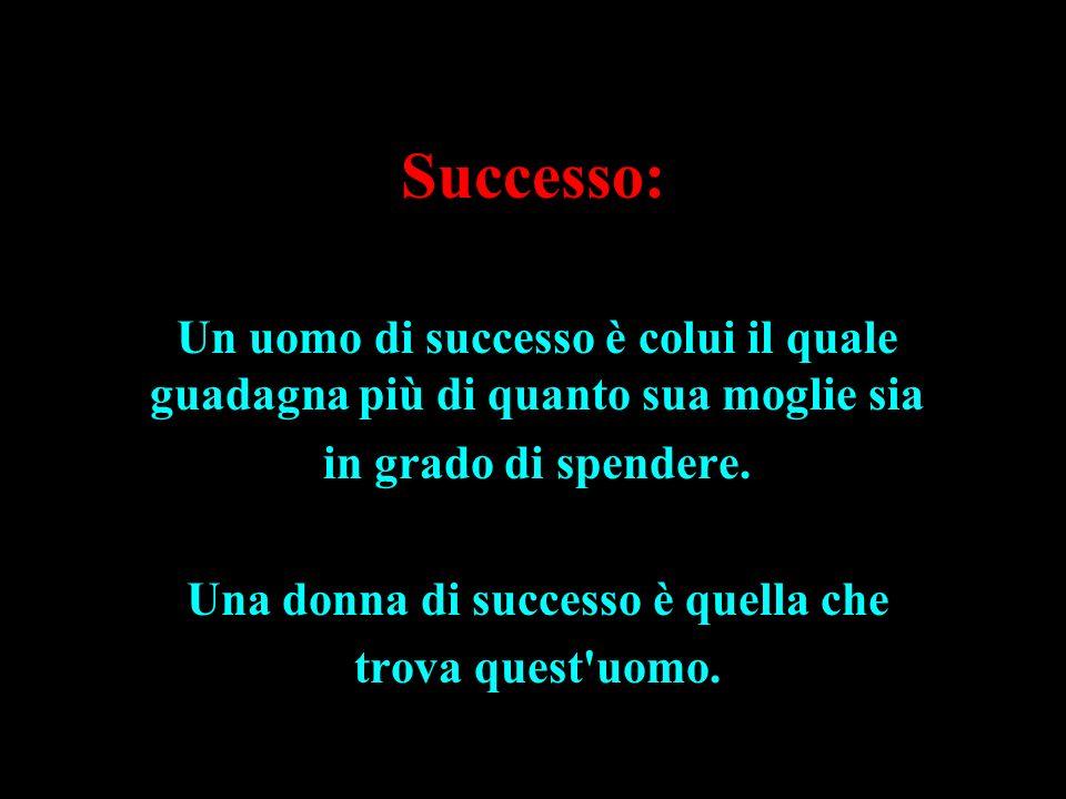 Una donna di successo è quella che