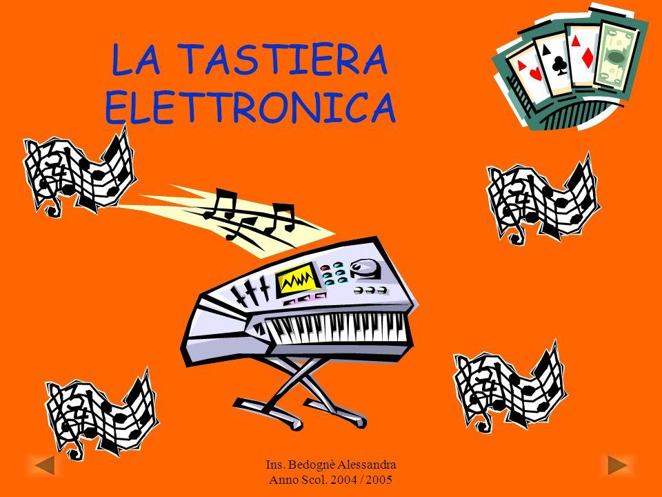 LA TASTIERA ELETTRONICA