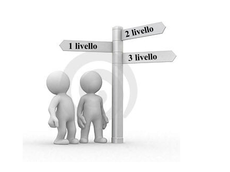 2 livello 1 livello 3 livello