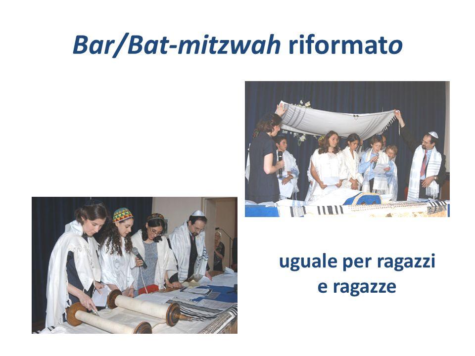 Bar/Bat-mitzwah riformato