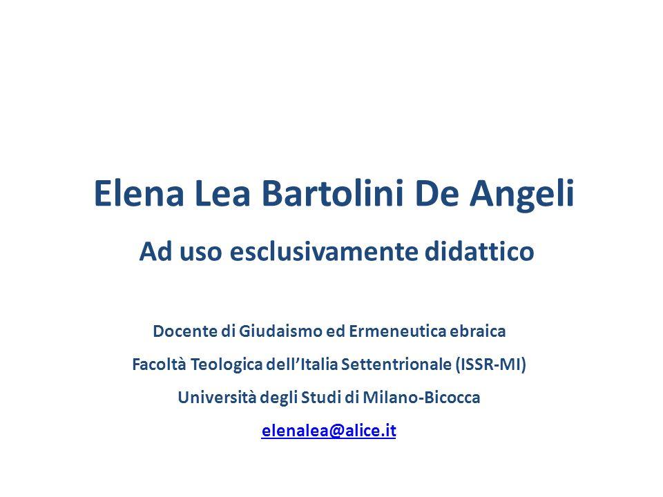 Elena Lea Bartolini De Angeli