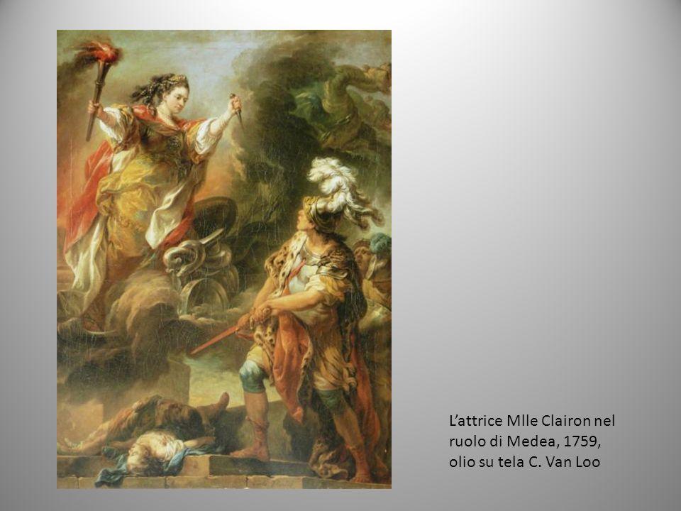 L'attrice Mlle Clairon nel ruolo di Medea, 1759, olio su tela C