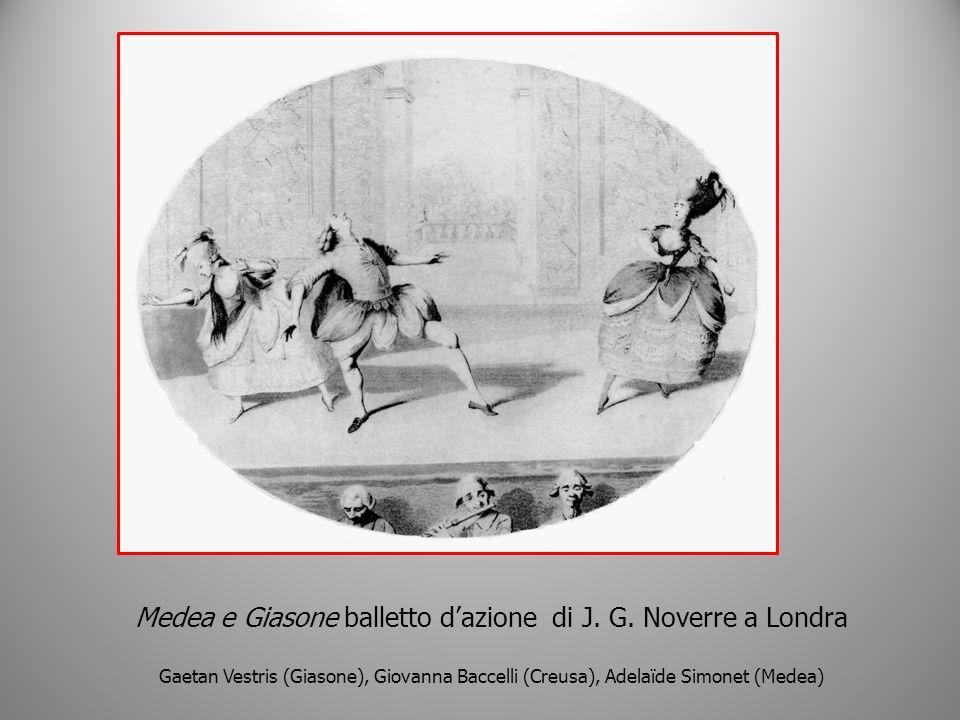 Medea e Giasone balletto d'azione di J. G. Noverre a Londra