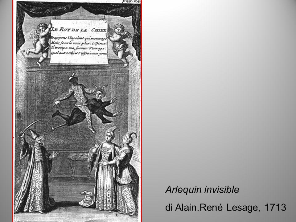 Arlequin invisible di Alain.René Lesage, 1713
