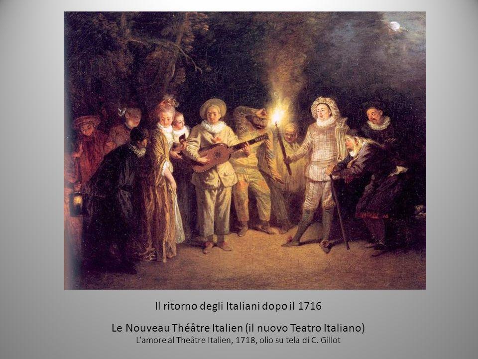 Il ritorno degli Italiani dopo il 1716