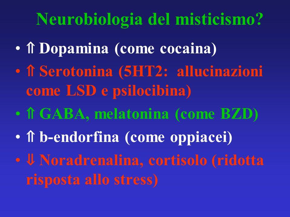 Neurobiologia del misticismo