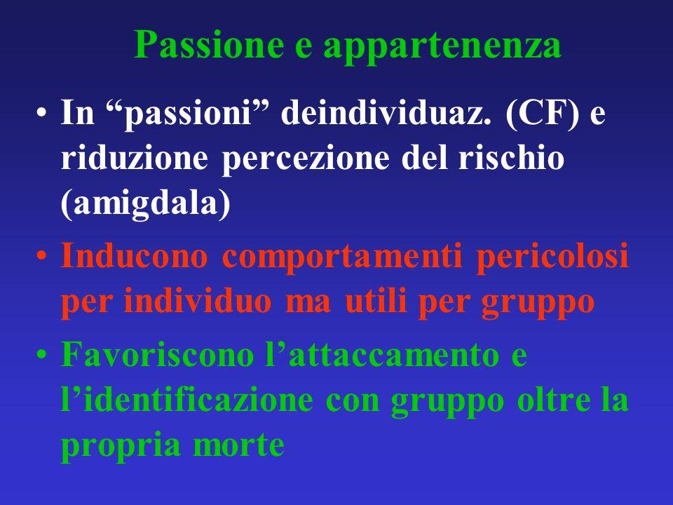 Passione e appartenenza
