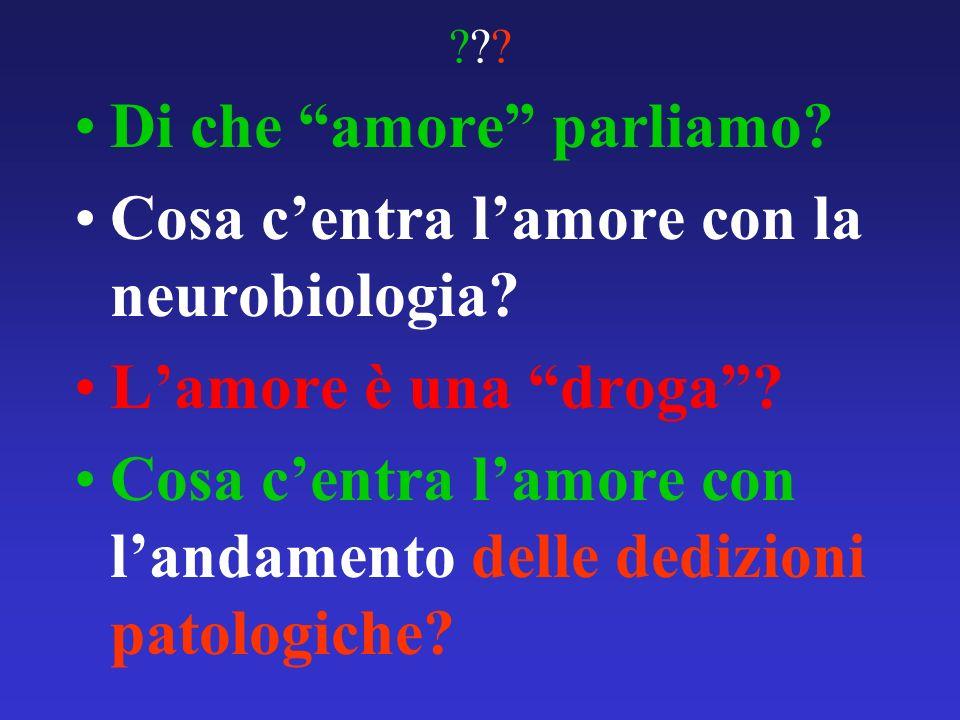 Di che amore parliamo Cosa c'entra l'amore con la neurobiologia