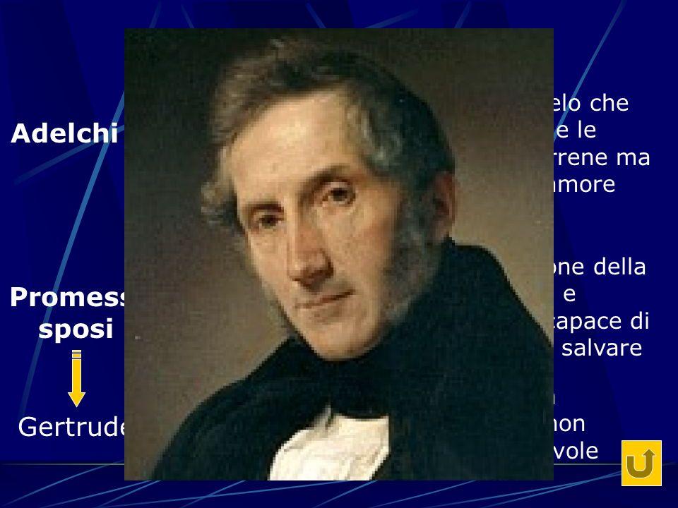 Alessandro Manzoni Adelchi Ermengarda Promessi sposi Lucia Gertrude