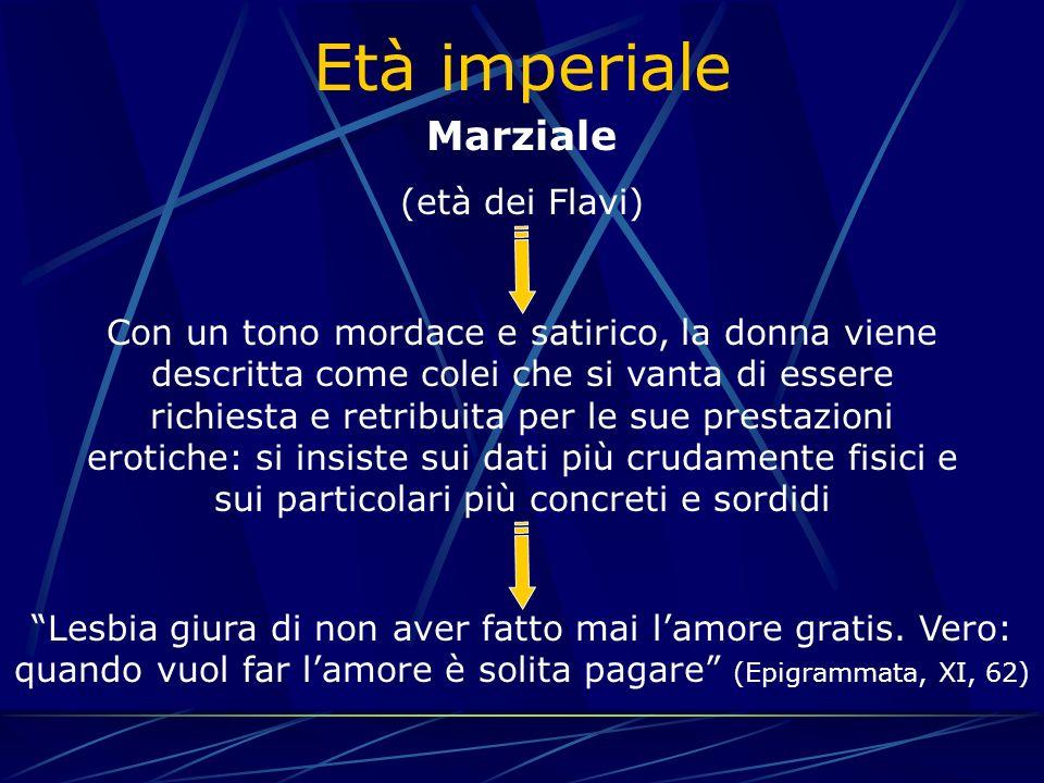Età imperiale Marziale (età dei Flavi)