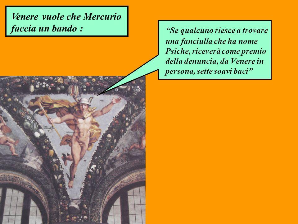 Venere vuole che Mercurio faccia un bando :