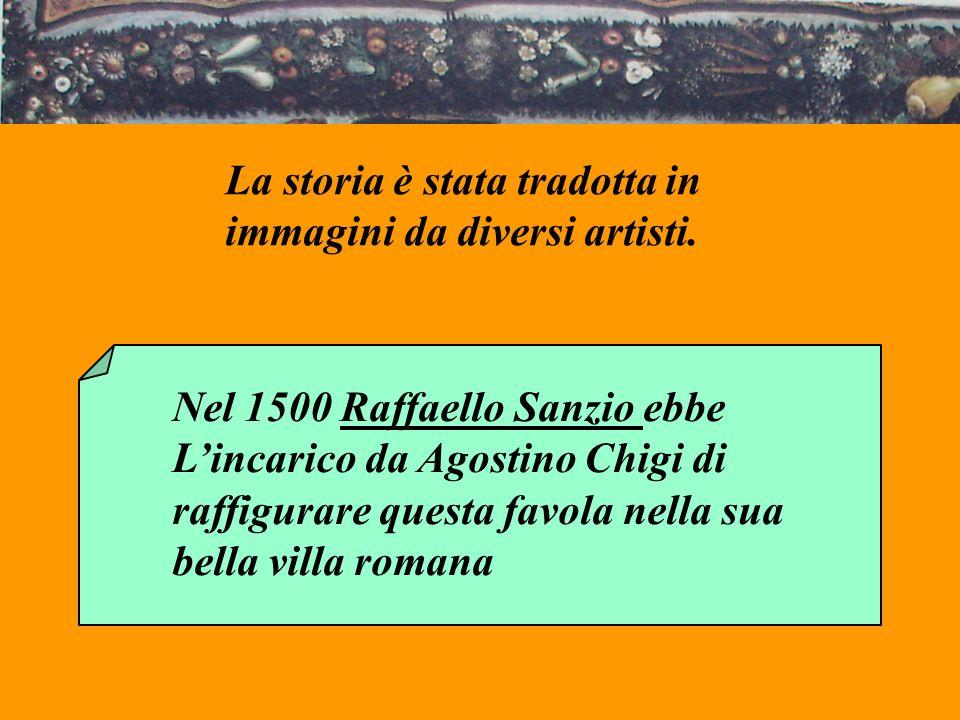 La storia è stata tradotta in immagini da diversi artisti.