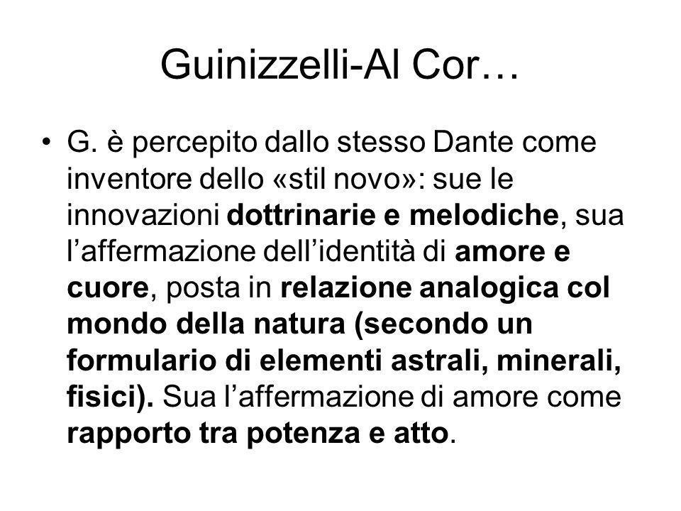 Guinizzelli-Al Cor…