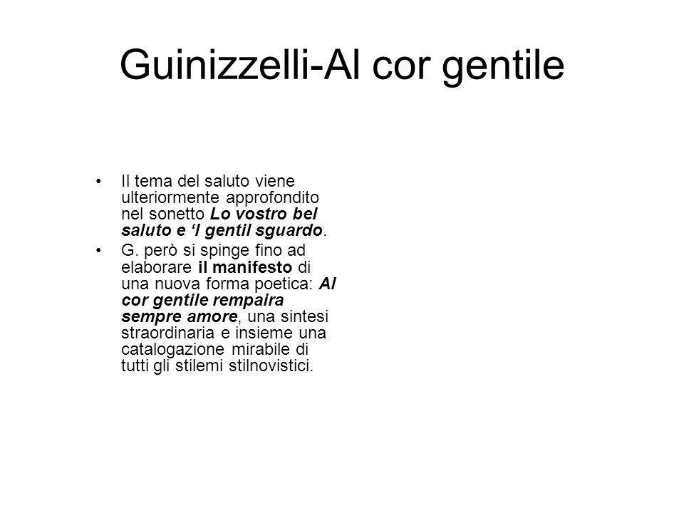 Guinizzelli-Al cor gentile