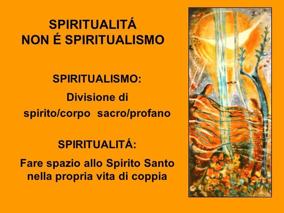 SPIRITUALITÁ NON É SPIRITUALISMO