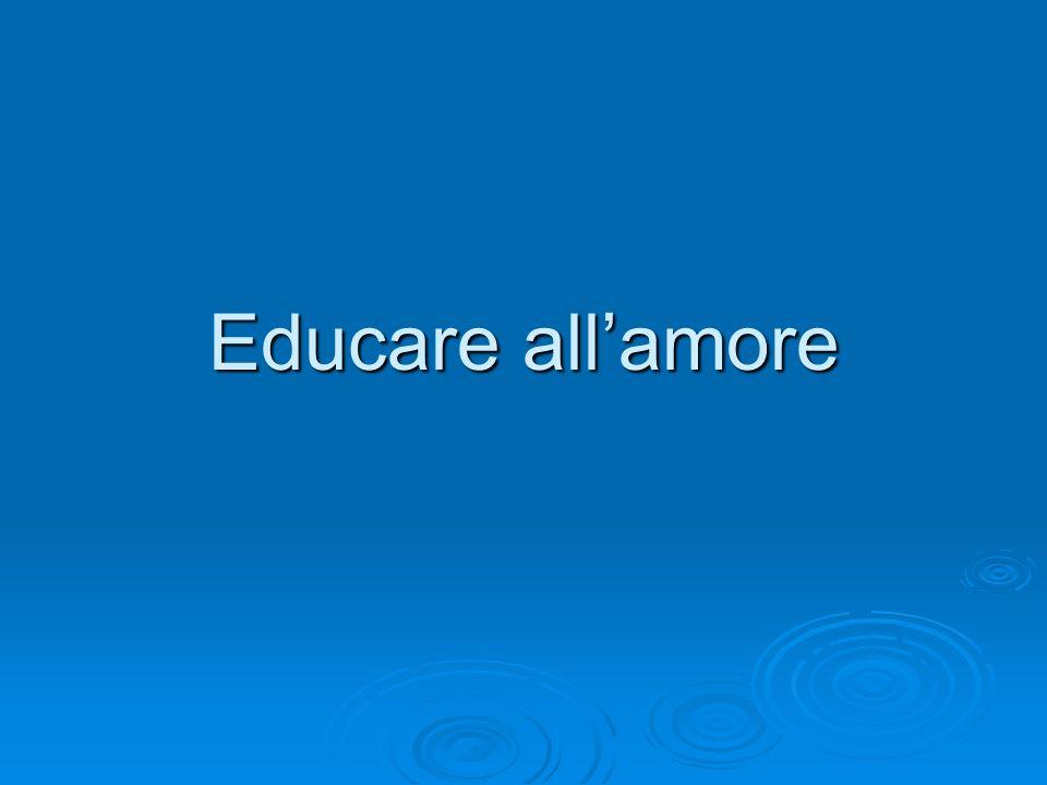 Educare all'amore