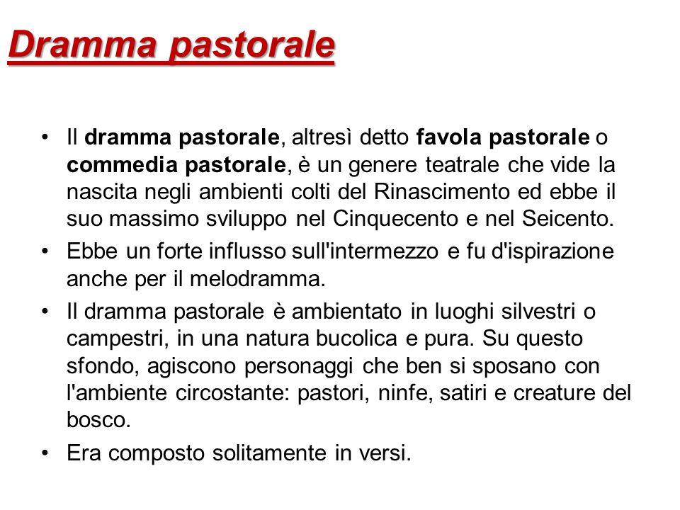 Dramma pastorale