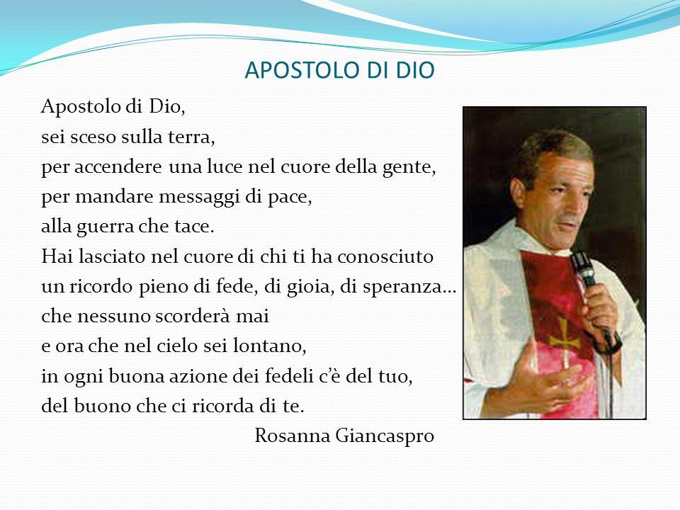 APOSTOLO DI DIO