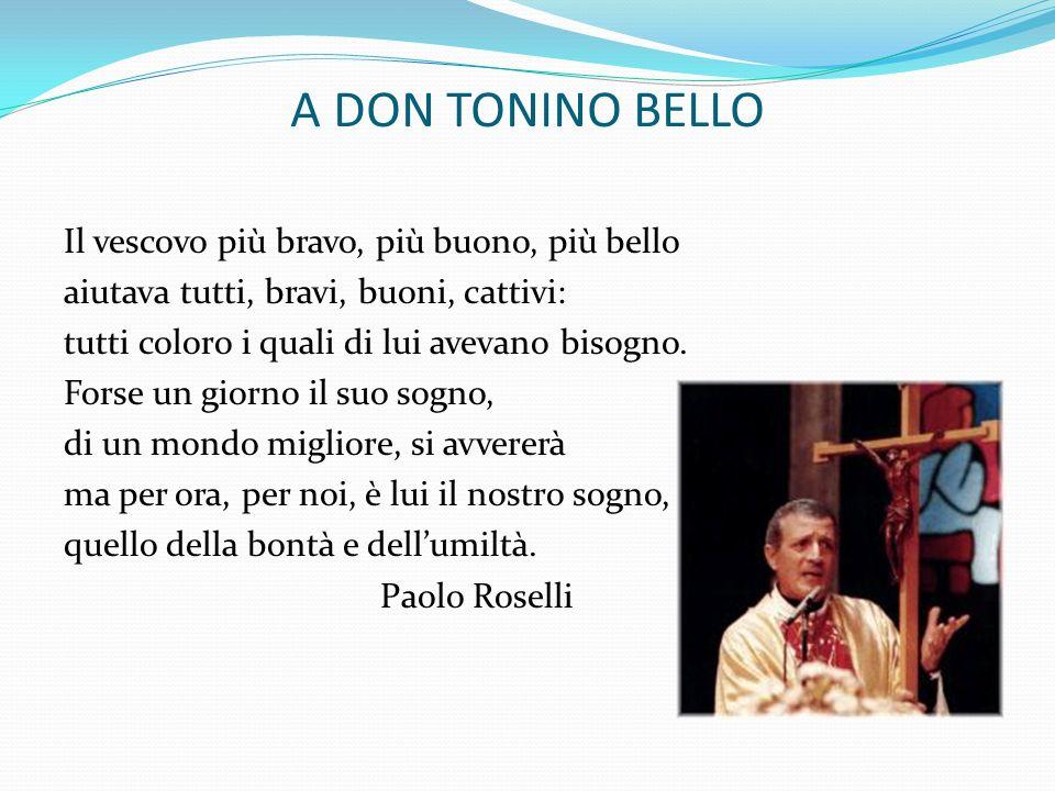 A DON TONINO BELLO