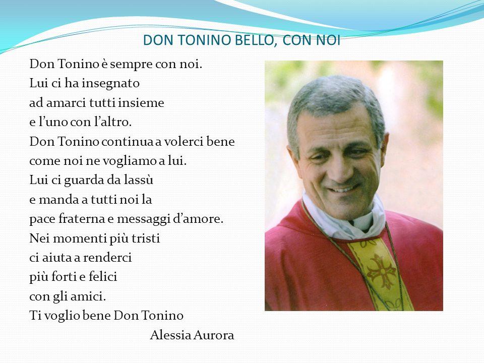 DON TONINO BELLO, CON NOI