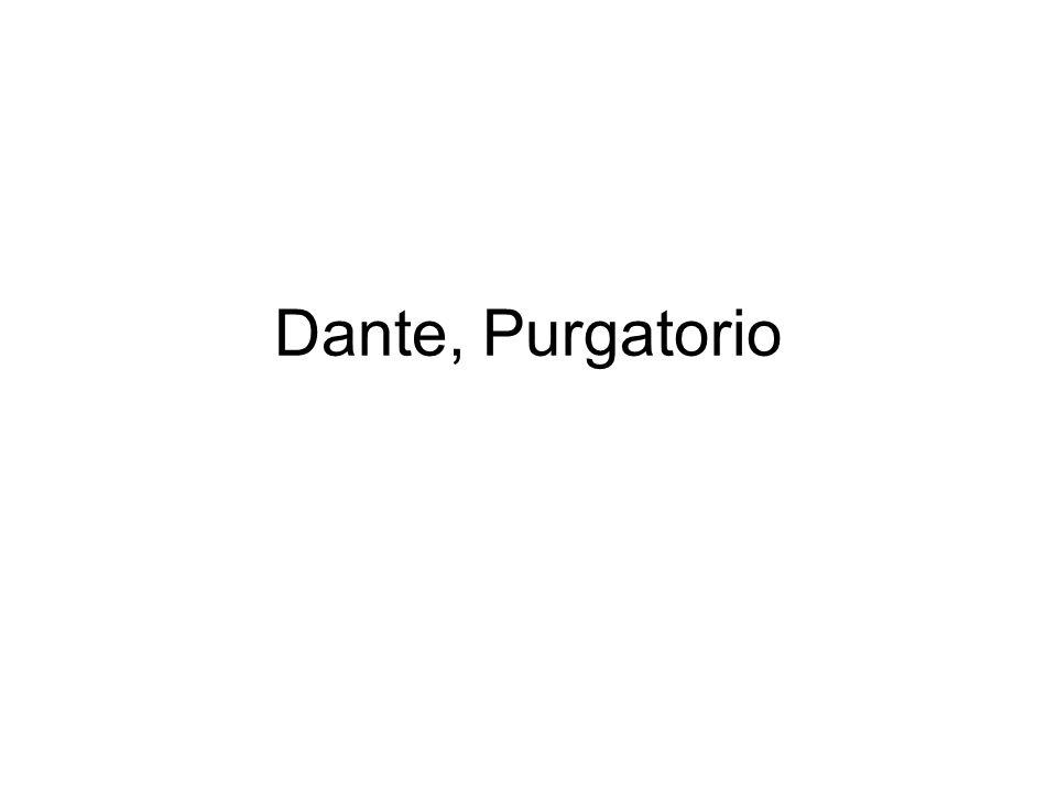 Dante, Purgatorio