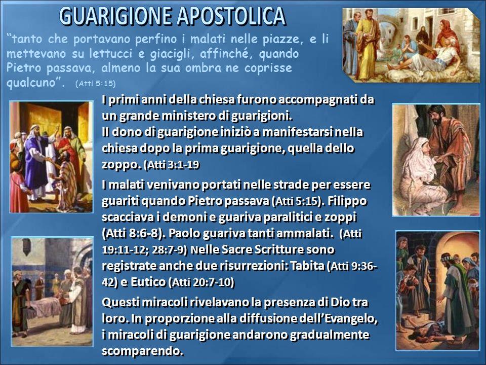 GUARIGIONE APOSTOLICA