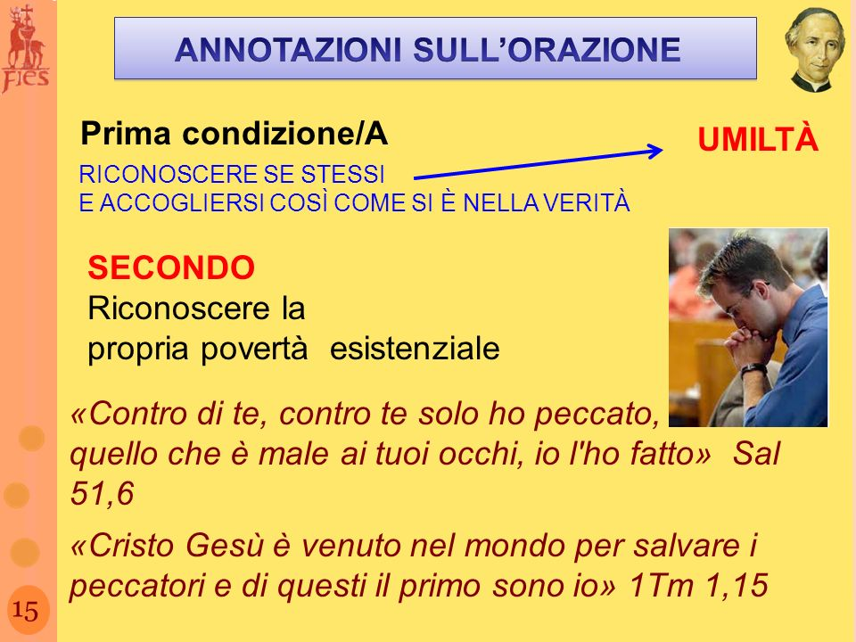 ANNOTAZIONI SULL'ORAZIONE