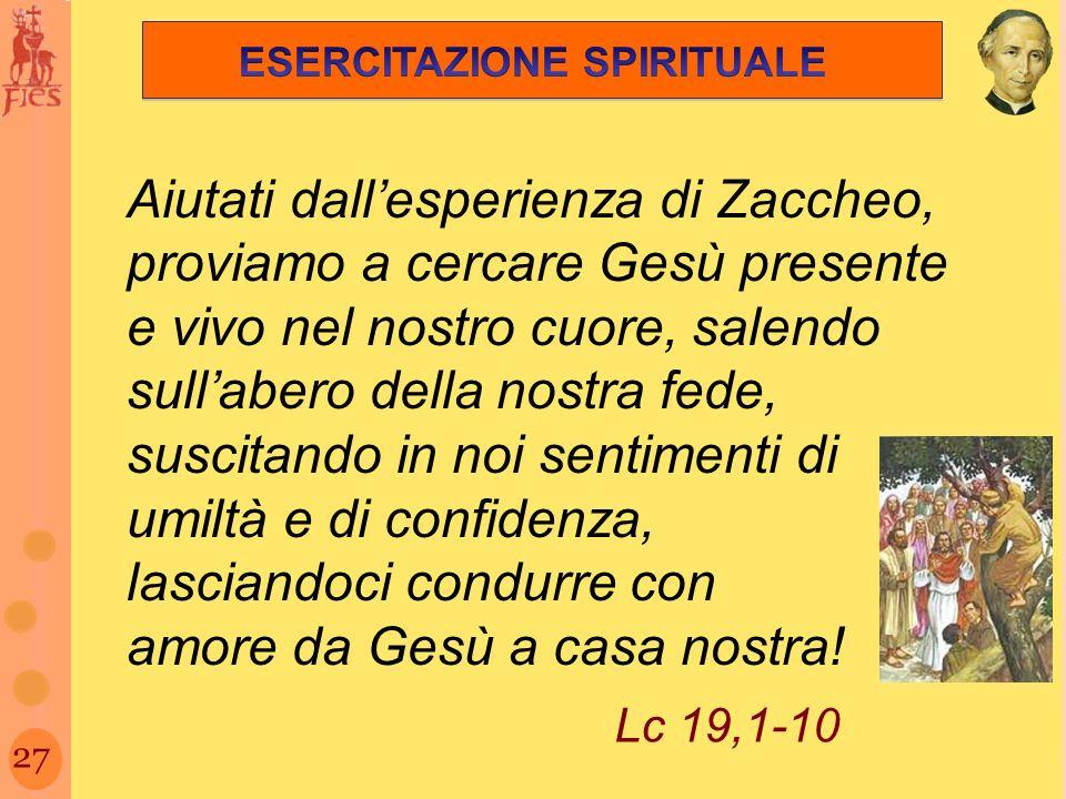 ESERCITAZIONE SPIRITUALE