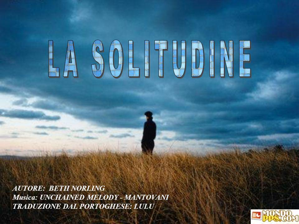 LA SOLITUDINE AUTORE: BETH NORLING