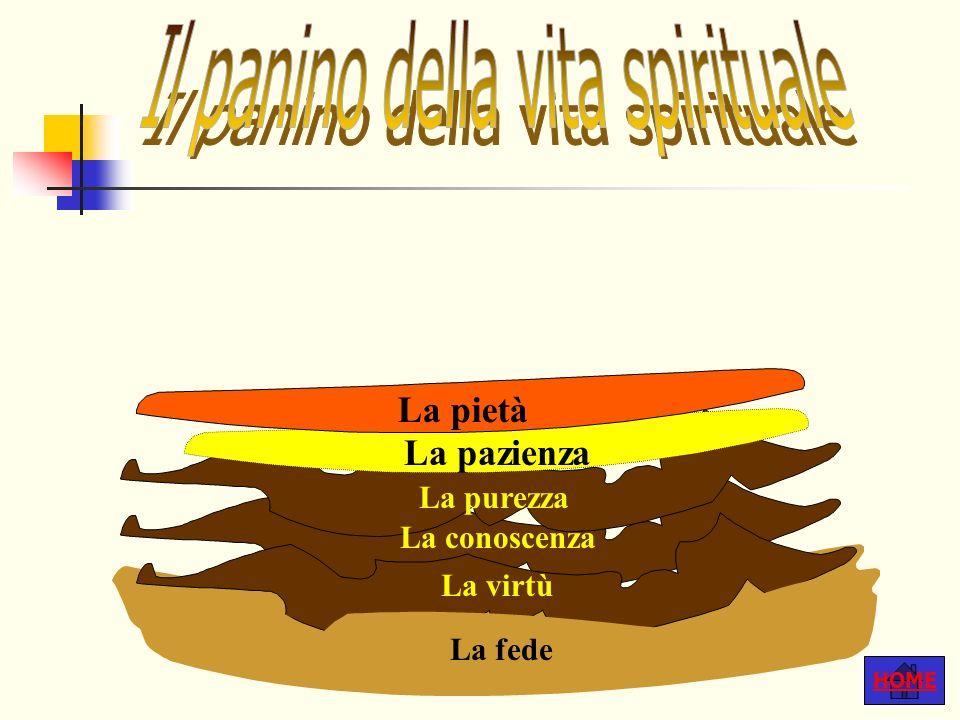 Il panino della vita spirituale