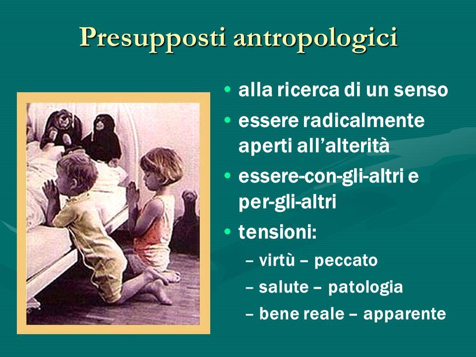 Presupposti antropologici