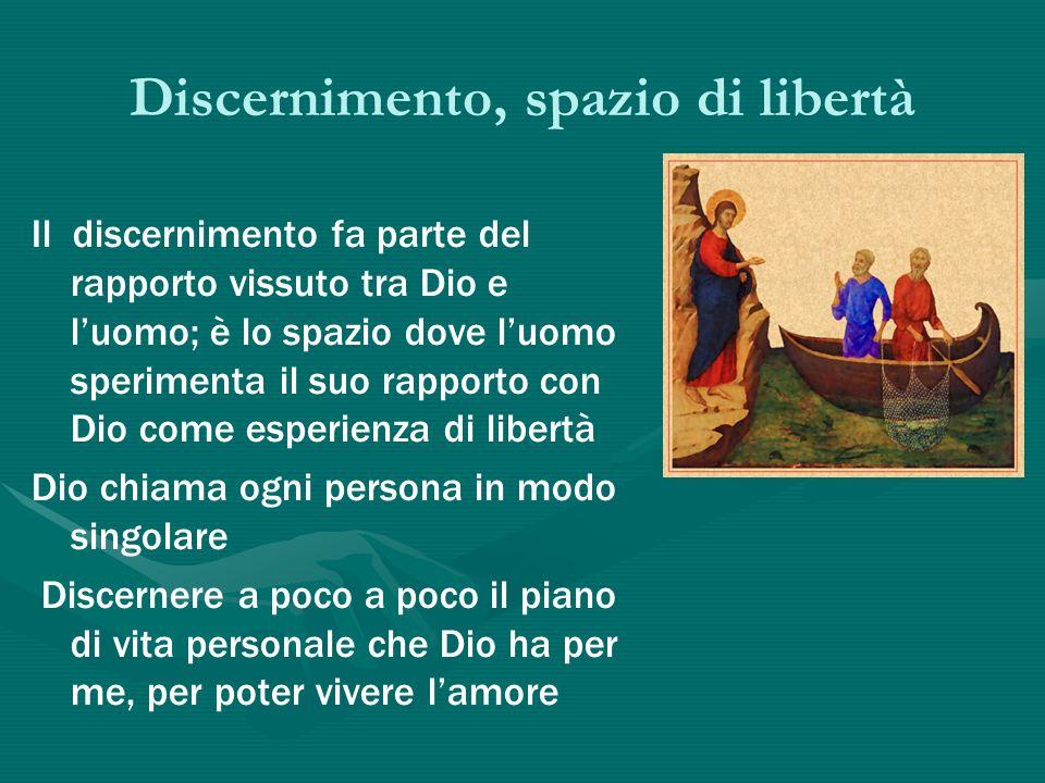Discernimento, spazio di libertà
